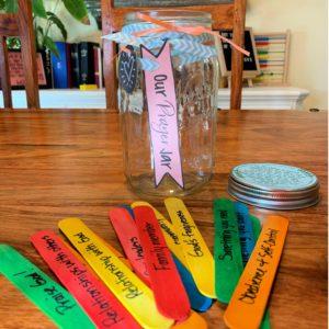 Using A Prayer Jar To Teach Kids How To Pray Arrows Applesauce